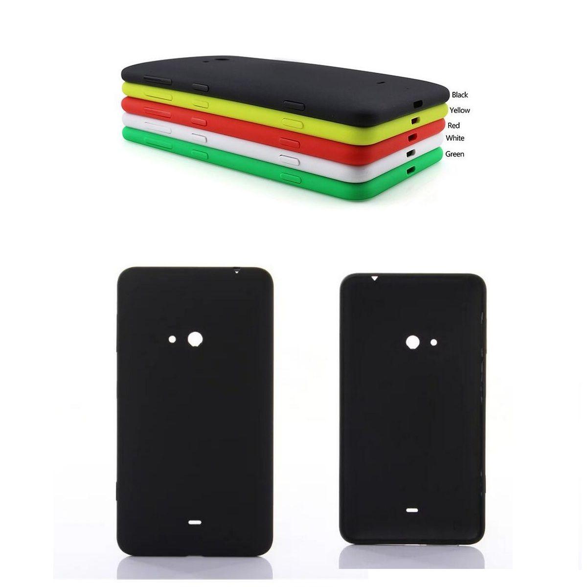 최고의 품질 후면 주택 nokia lumia 625 다시 배터리 도어 커버 휴대 전화 case 대한 microsoft lumia 625 + 스크린 필름