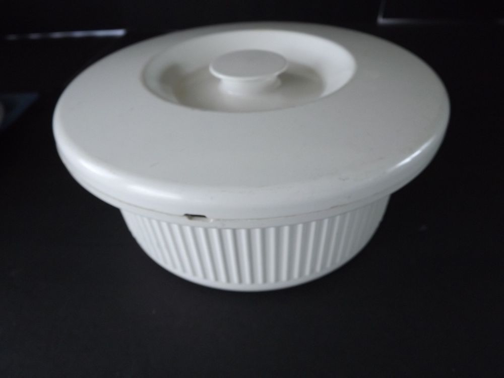 Anchor Hocking Microware Supreme Cerole With Lid 7¼ X 2¼ Tall Microwave Anchorhocking
