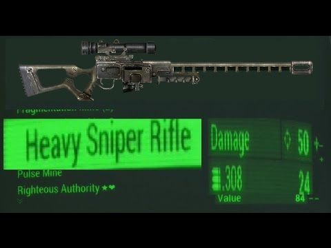 fallout 4 sniping