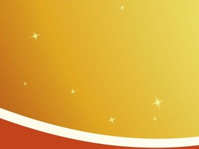 White Curve On Orange Ppt Backgrounds Abstract Templates