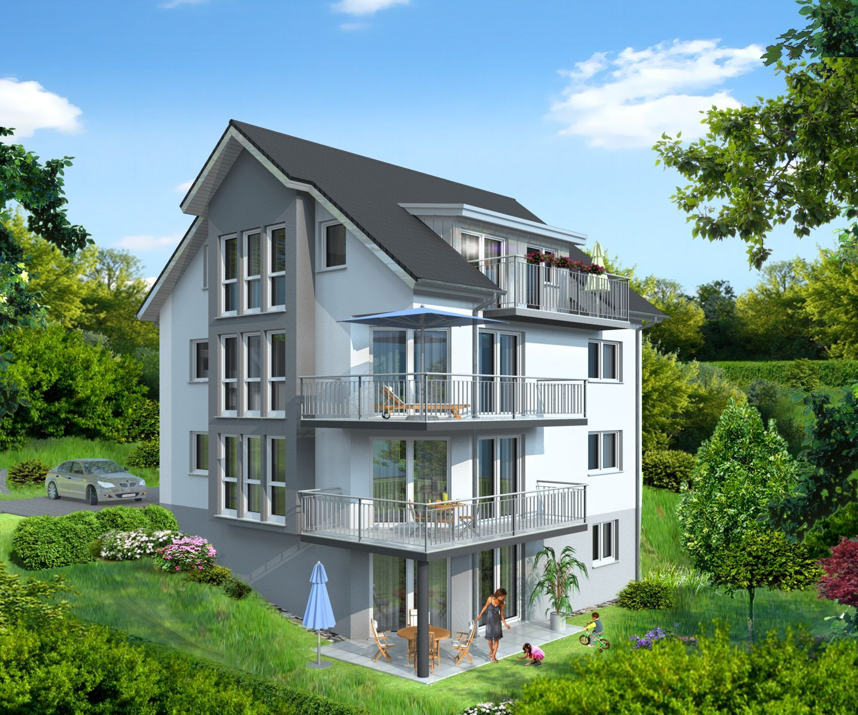 Architekturvisualisierung Mehrfamilienhaus von 1Archivisio