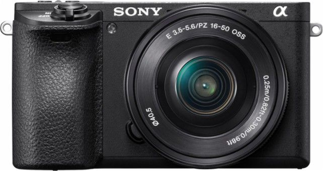 Sony Alpha A6500 Mirrorless Camera With E Pz 16 50mm F3 5 5 6 Oss Lens Front Zoom With Images Mirrorless Camera System Camera Best Camera
