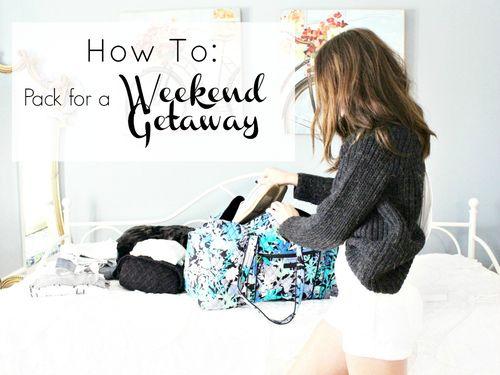 How to: Weekend Getaway www.withacitydream.com