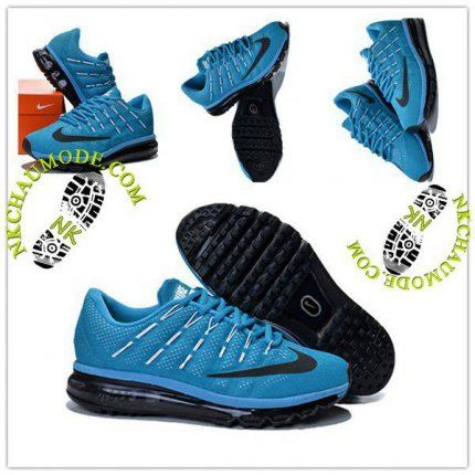 baskets pour pas cher 1362e 03cb9 Tendance | Nike Chaussure Sport Air Max 2016 Homme Bleu Ciel ...