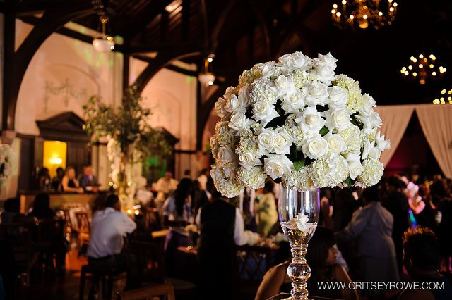 Wedding Flowers At McBryde Hall Beautiful White Winthrop University Rock Hill