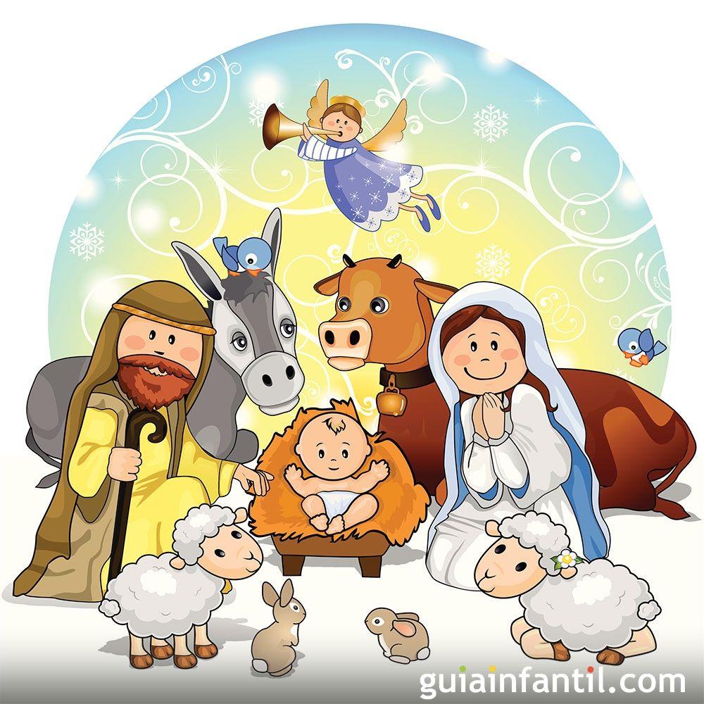 293-nacimiento-del-nino-jesus-cuento-de-navidad.jpg (1000×1000 ...