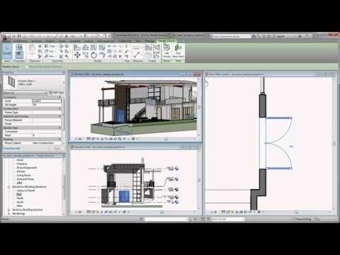 Autodesk Revit Getting Started In Revit 2013 Youtube Autodesk Revit Revit Architecture Revit Tutorial