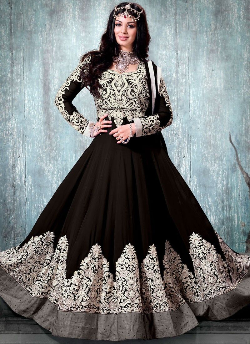 blue anarkali suits party wear - Google Search | Indian dresses ...