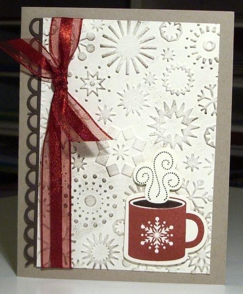 hot coffee...Karine Cartier | Winter cards, Christmas ...