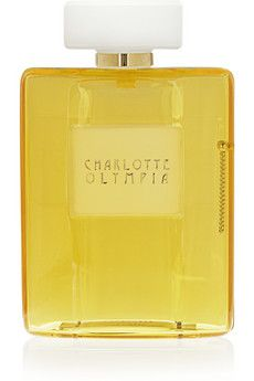 Charlotte Olympia - Yellow Scent Perspex clutch