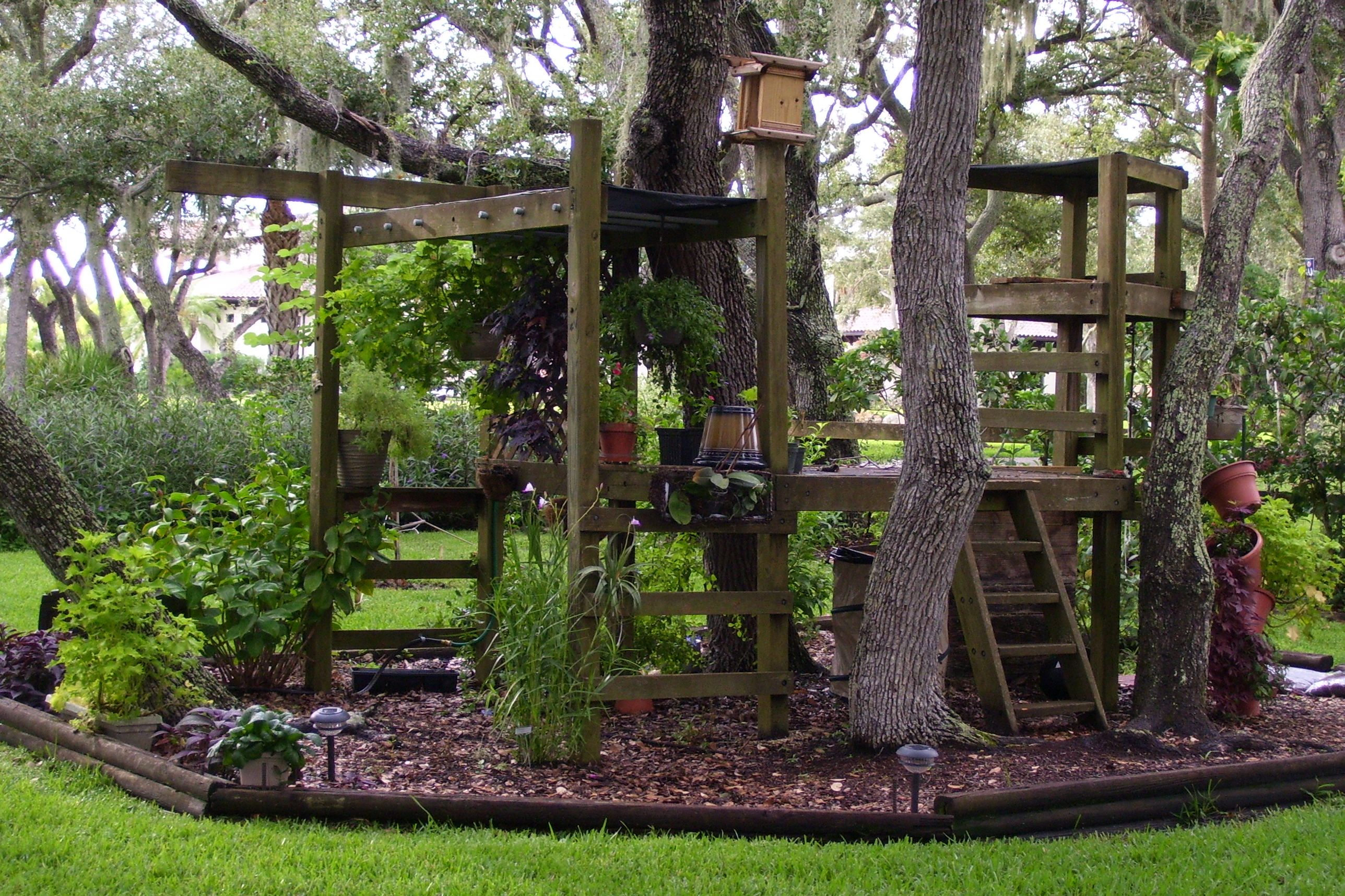 Recycled playground | Backyard playground, Play area ...
