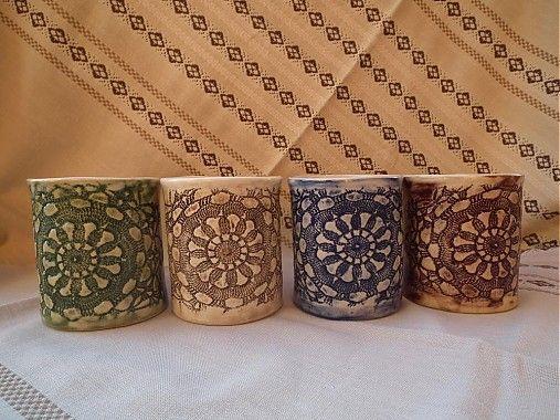 Hrnček sedmikráska III  300ml  by keramikagresko - SAShE.sk - Handmade Šálky