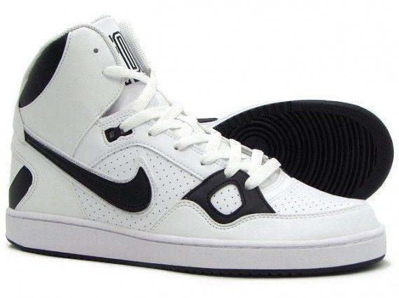 Tractor vulgar Llevando  Nike Son of Force Mid - White - Black - SneakerNews.com | Nike, Shoe show,  Me too shoes