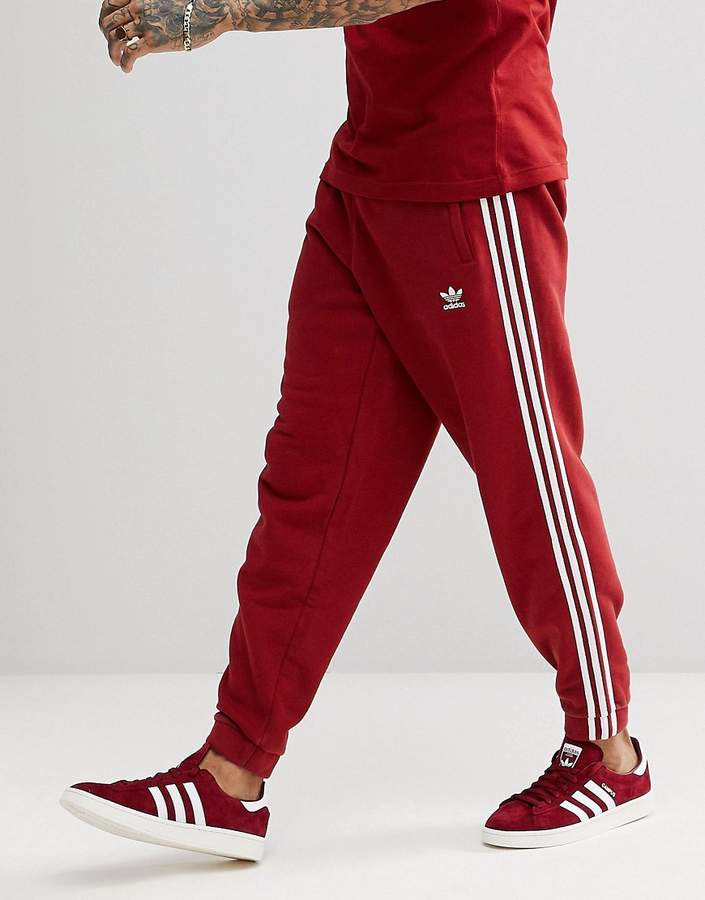wide range new release autumn shoes adidas adicolor 3-Stripe Joggers In Red CW2428 in 2019 ...