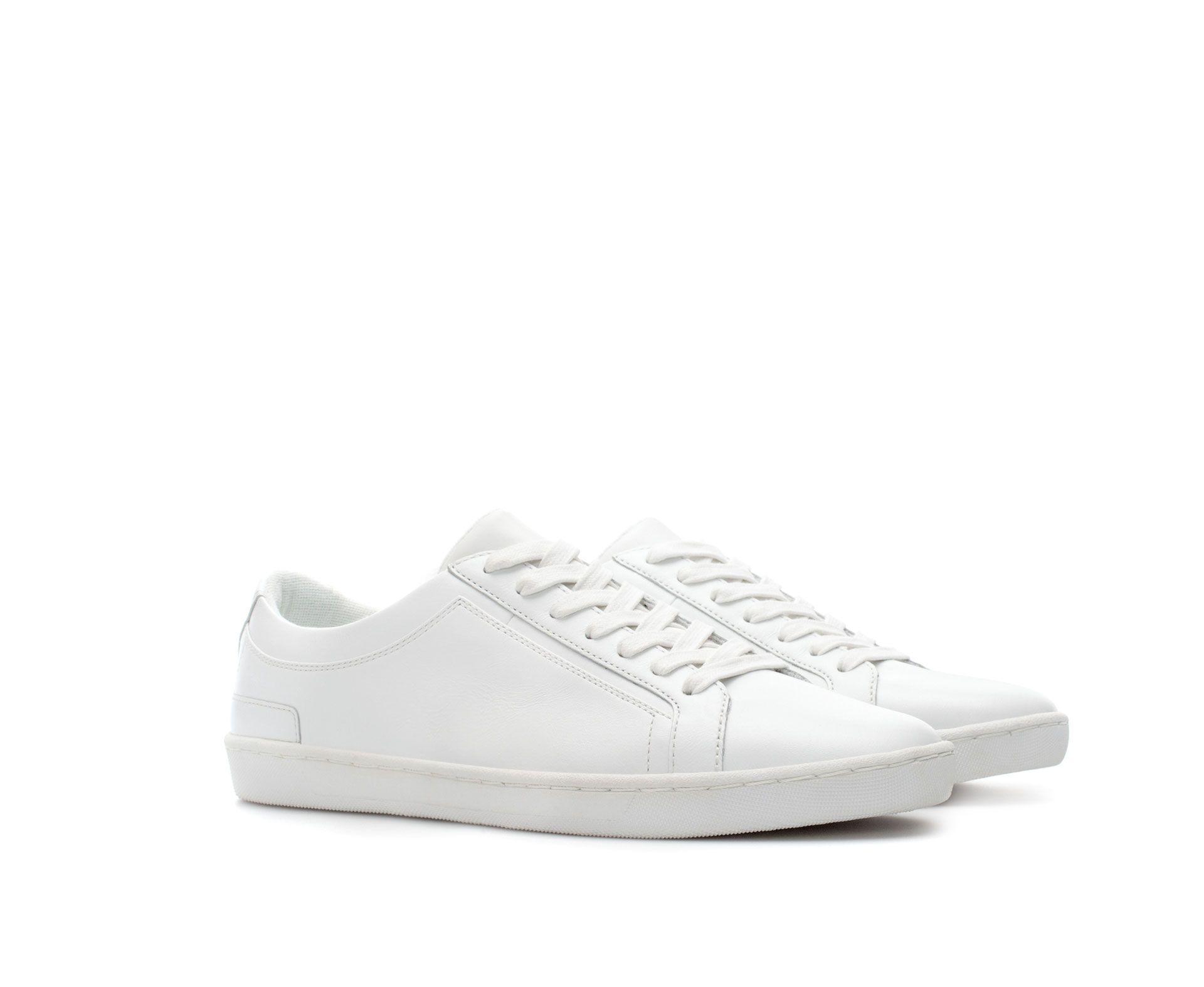 Leather Sneaker From Zara Damas