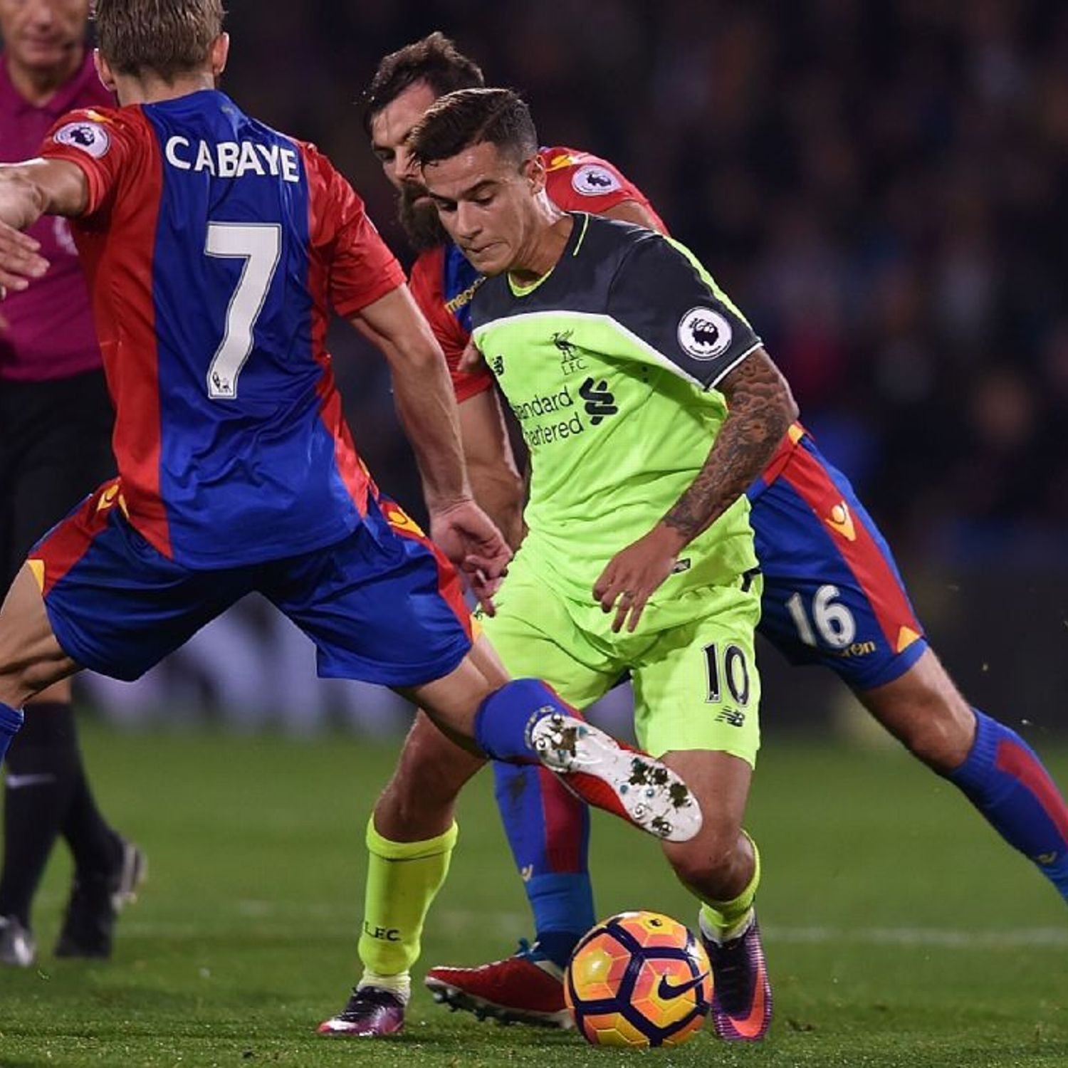 Philippe Coutinho In Sparkling Form As Liverpool Beat Crystal Palace 4 2 Premier League Best Player Philippe Coutinho