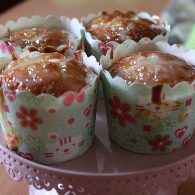 Moist lemon flavored cupcakes