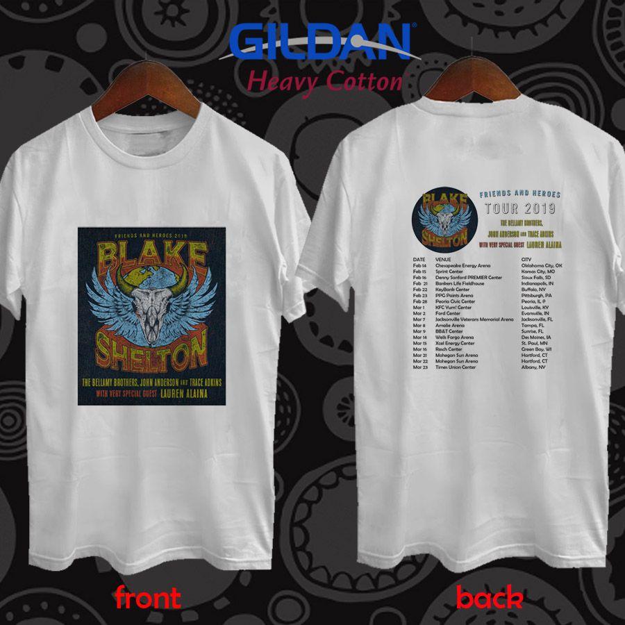 ce643b024 Queen + Adam Lambert the Rhapsody tour 2019 white t-shirt S/M/L/XL/2XL |  Pengangguran Store in 2019 | White tee shirts, Shirts, White tees