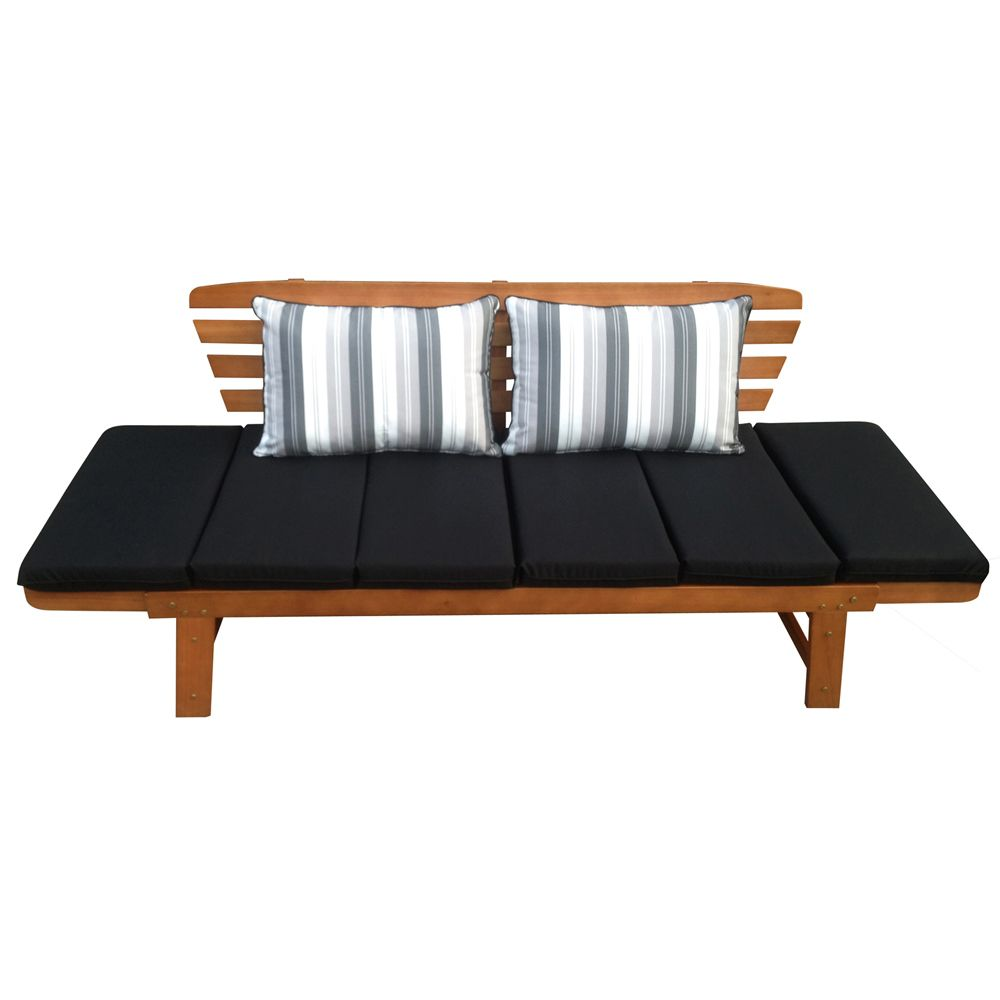 Best Luxo Chatsworth 2 In 1 Eucalyptus Hardwood Day Bed With 640 x 480