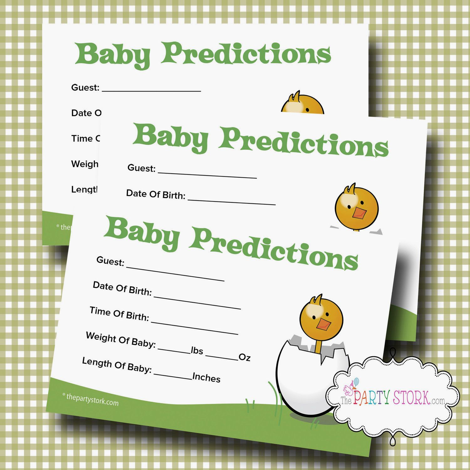 Cute To Save For Baby Book. Baby Shower Guessing GameBaby ...