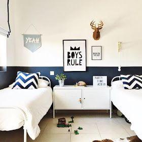 Kids Rooms On Instagram White Kids Room Boys Shared Bedroom