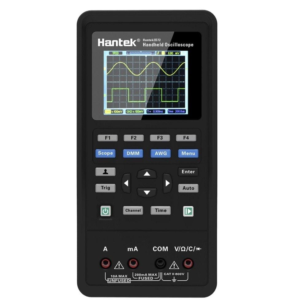 3in1 2D72 250MSa/S Digital Oscilloscope Waveform Generator