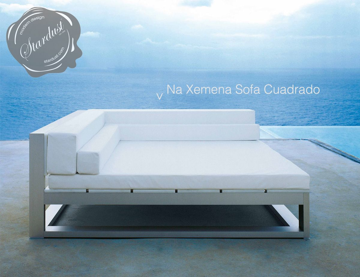 Modern outdoor lounge chairs - Modern Outdoor Lounge Sofa Gandia Blasco Na Xemena Sofa Cuadrado Modern Design