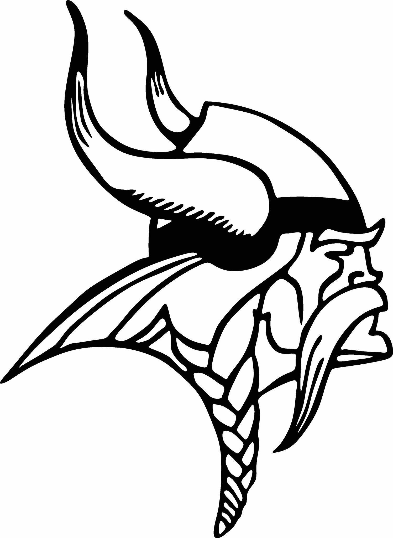 Minnesota Vikings Logo Vinyl Cut Out Decal Choose Your