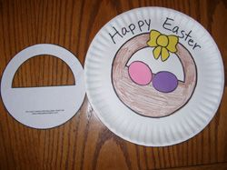 Make this fun little Easter basket craft with your kids. Find it and more at MakingLearningFun.com.