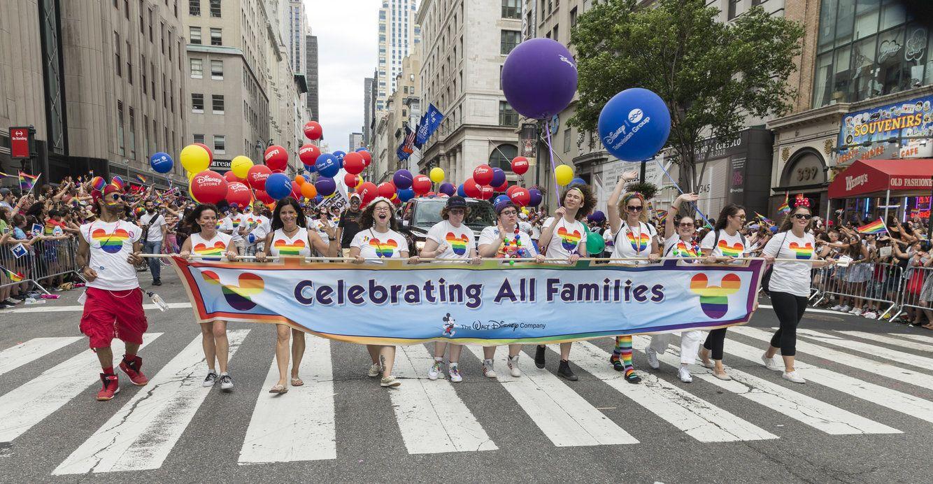 2009 disney at Gay world week pride