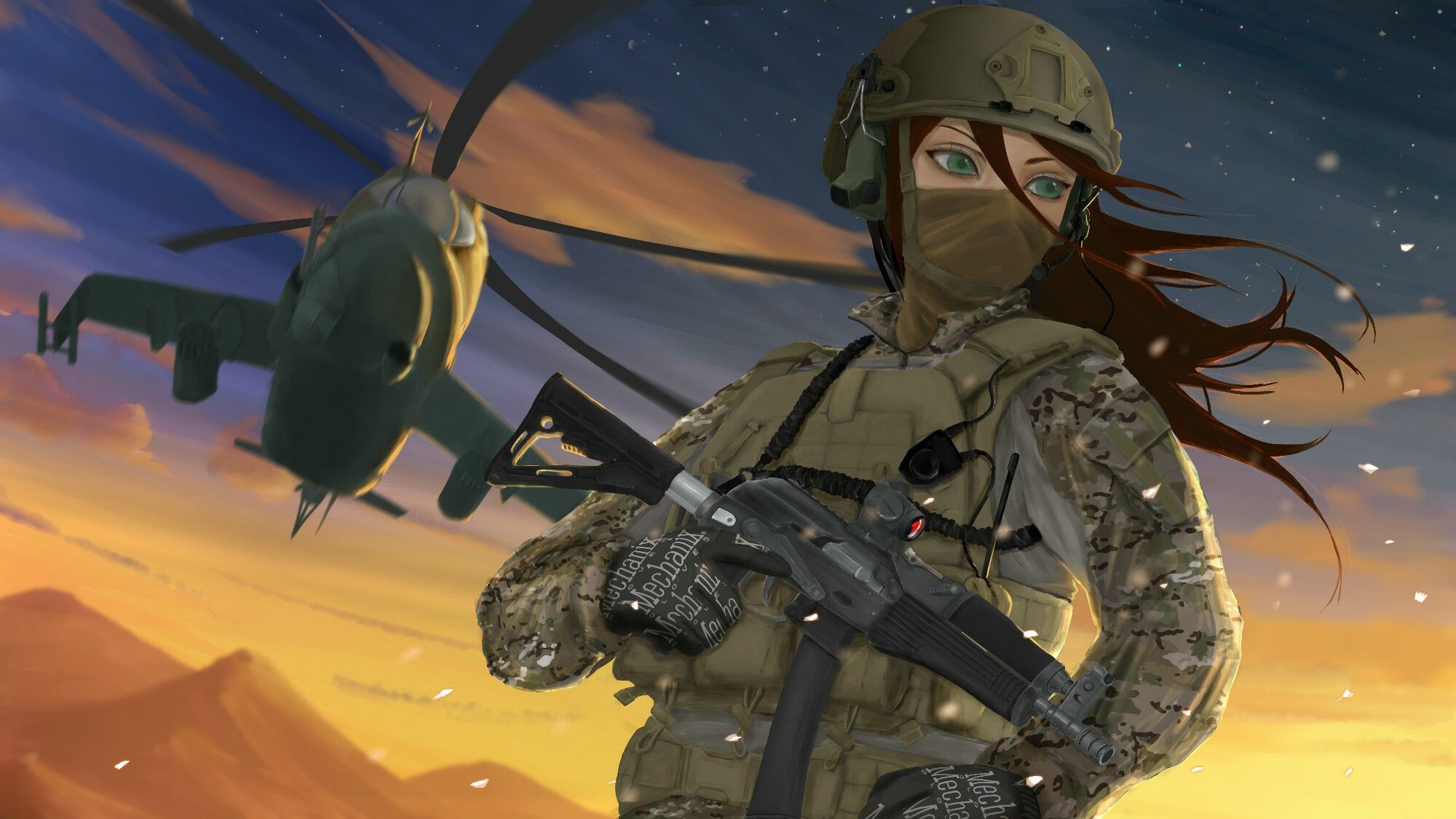Russian Army Anime Military Art Anime Character Design
