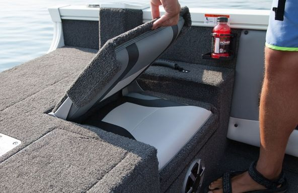 Rear Conversion Bench Seats | Boat Ideas | Fishing boat accessories