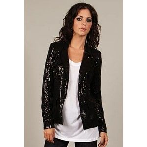 how to wear black sequin jacket - Google Search | Style for Women ...