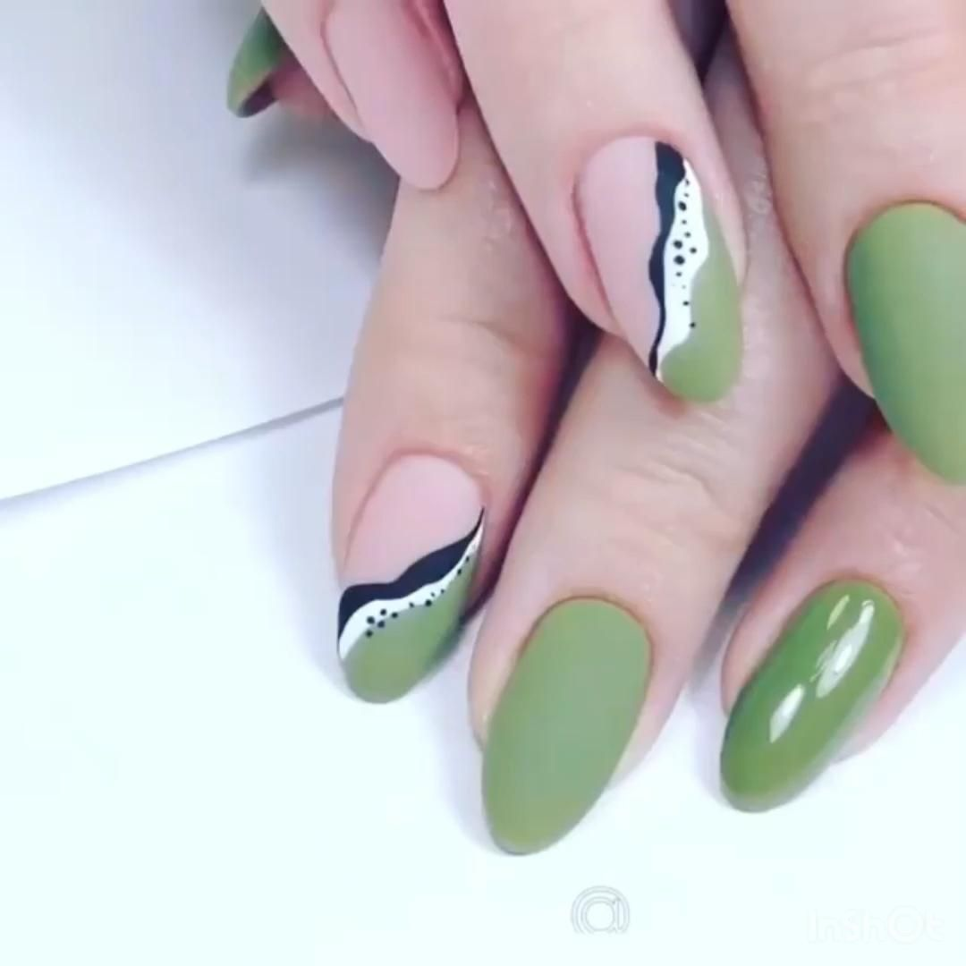 Simple nail design for you -   beauty Nails art