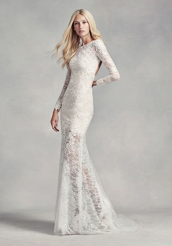 White by Vera Wang   Wedding dress styles, Lace weddings