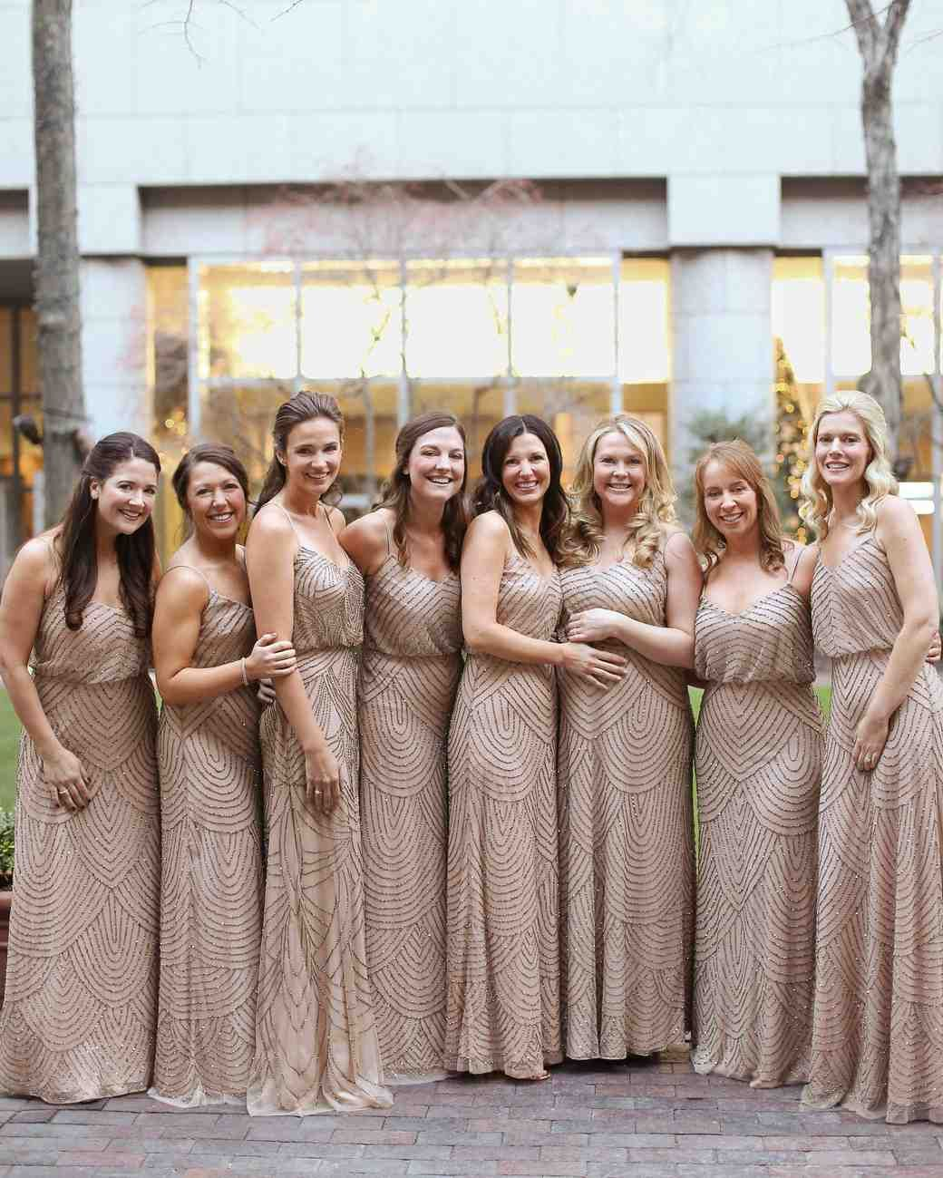 26e11b2bfcb A Metallic New Year s Eve Wedding in Philly