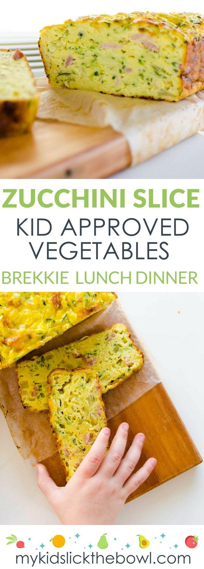 Zucchini Slice #baconfrittata