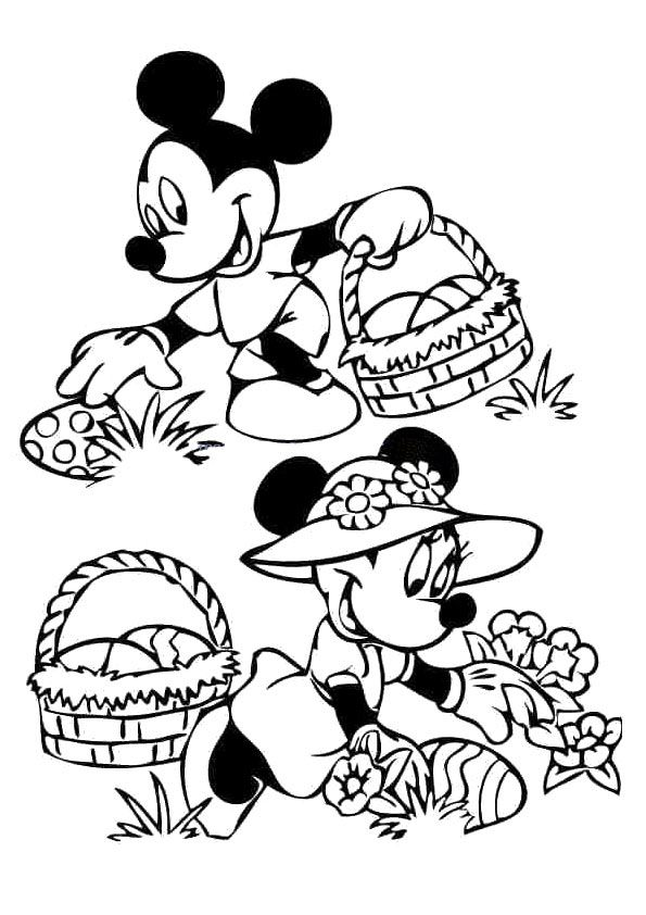 Click Share This Story On Facebook Mickey Mouse Coloring Pages Easter Coloring Pages Disney Coloring Pages