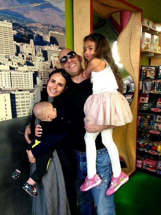 Jordan Brewster Her Son With Vin Diesel His Daughter Vin Diesel Vin Diesel Wife Wife And Kids