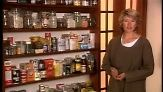 Martha Stewart shares some secrets about everyday-cooking pantry items. She offers helpful hints for organizing a pantry to make it accessible, fresh and fun.