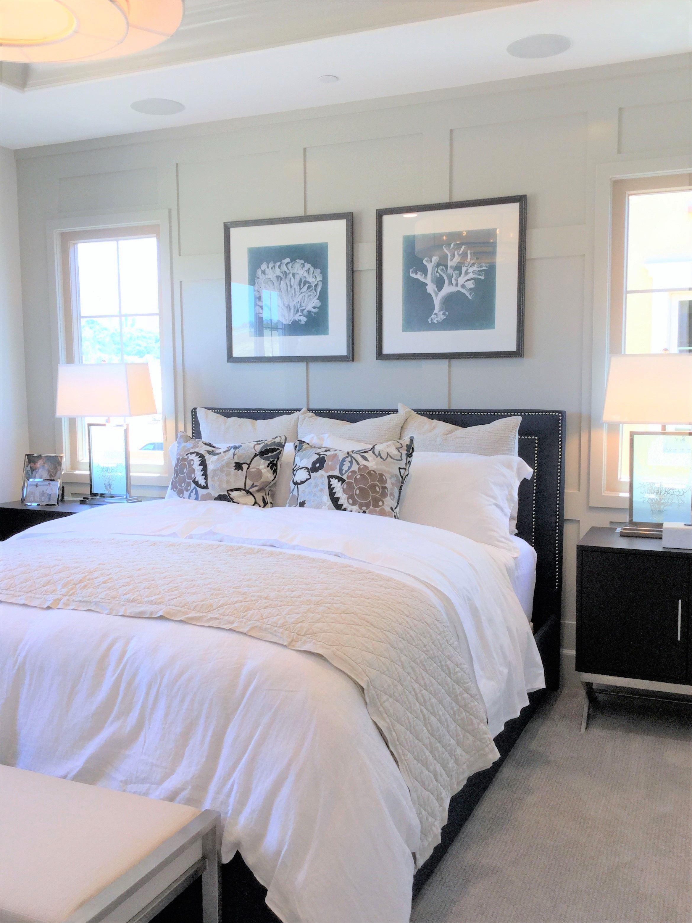 Natural Bedroom Decor: Natural Light Brightens This Bedroom At Varenna In The