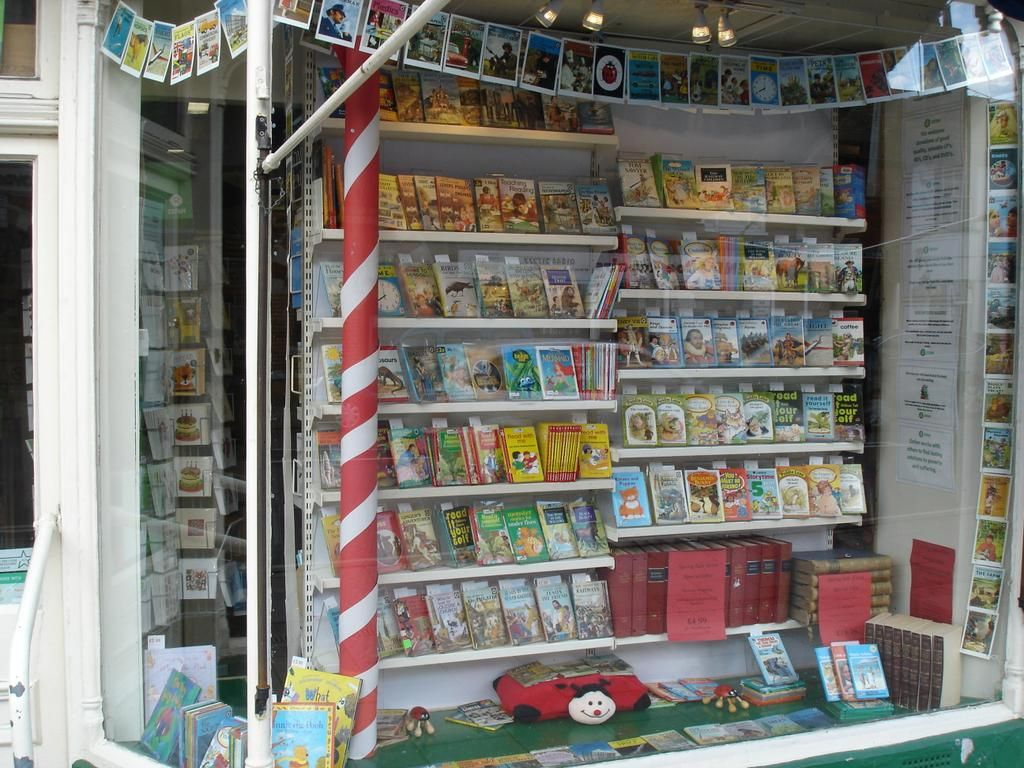 Oxfam Book and Music Shop in Thame celebrating 100 years of Ladybird Books