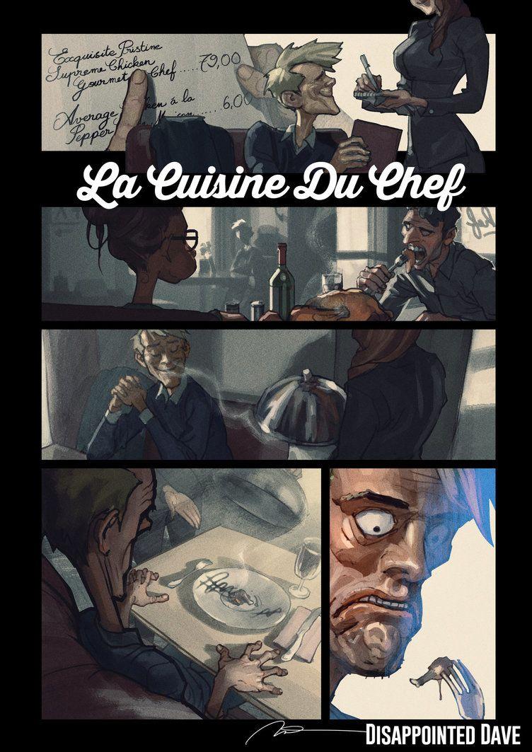 Disappointed Dave 07 La Cuisine Du Chef By Aldgerrelpa Personajes
