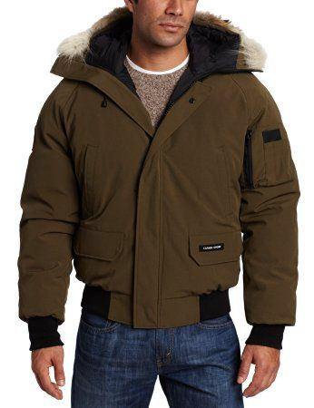 df3c591c687e Men s Chilliwack Bomber Jacket - Canada Goose - A warm winter coat for men  worn by post-war bush pilots in Canada s North. The Chilliwack Bomber  Jacket is ...