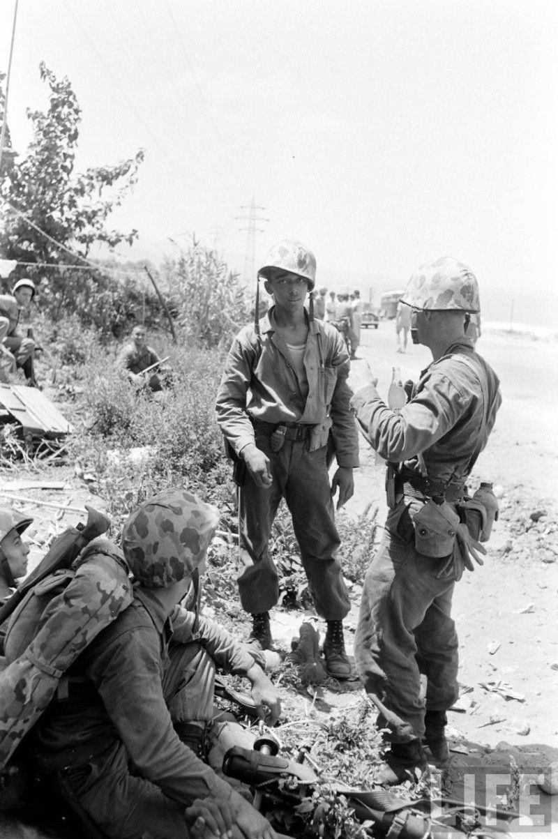 Marines in Lebanon.