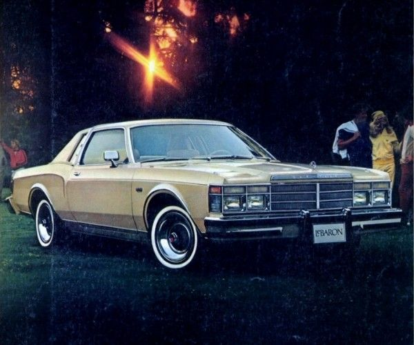 The 1979 Chrysler Lebaron Coupe Was Based On The Plymouth Volare