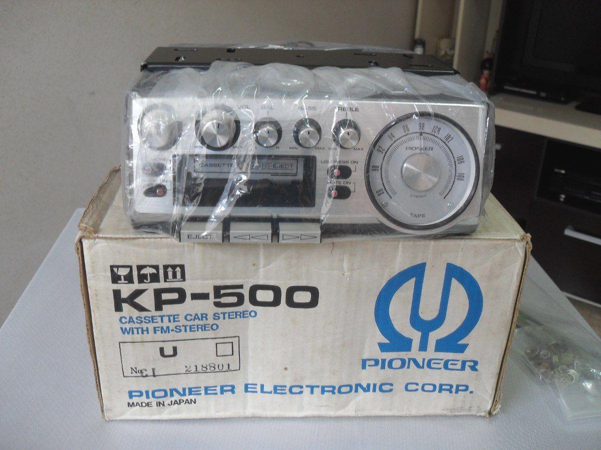 Toca Fitas Pioneer Kp 500 Zero Ok Na Embalagem Reliquea R 3 500