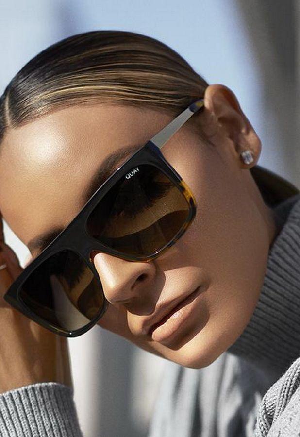premium selection first look amazing price Quay x Desi Perkins OTL II Sunglasses | Black tortoise sunglasses