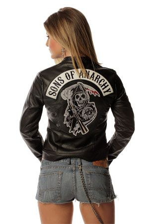 Womens Biker Halloween Costume