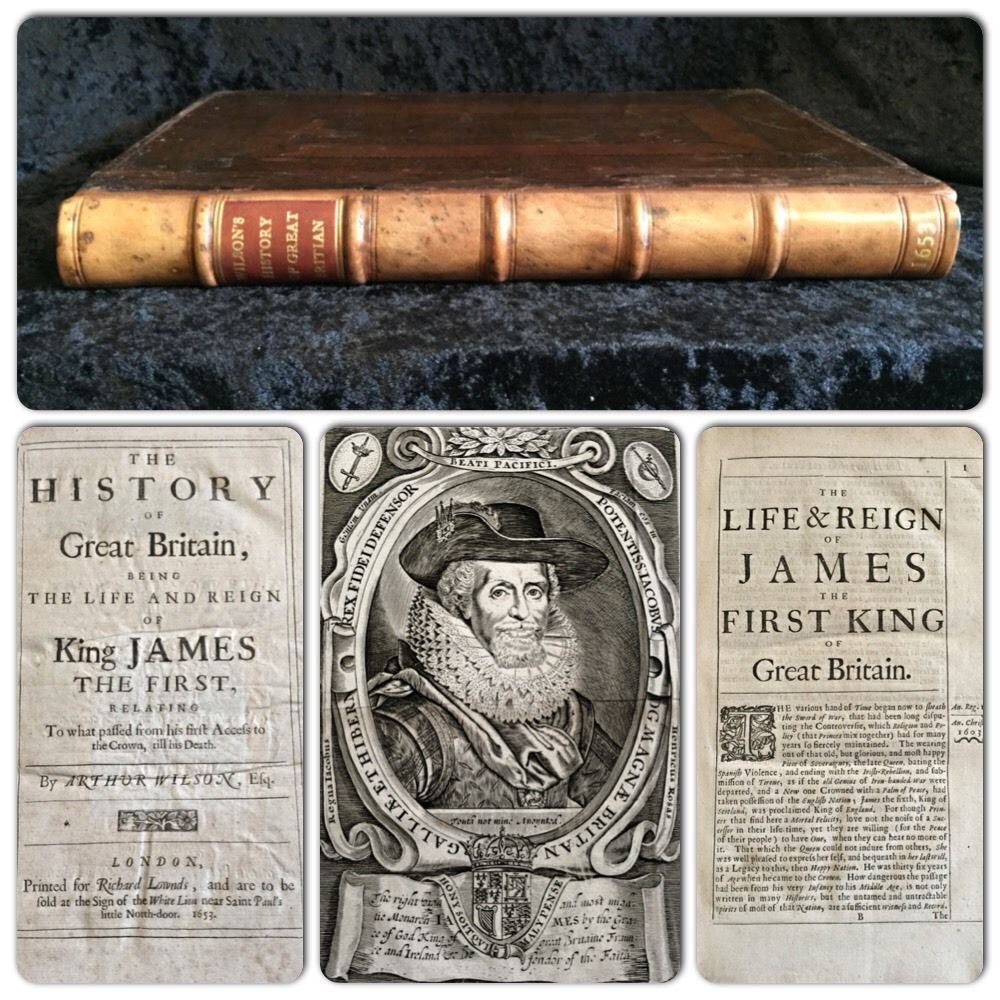 1611+KING+JAMES+BIBLE+Shakespeare+FIRST+ED+History+of+Great+